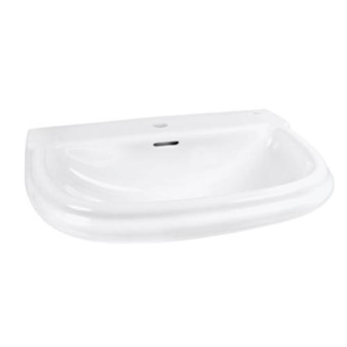 domino keramik waschbecken weiss 70 cm 93757 waschtisch handwaschbecken. Black Bedroom Furniture Sets. Home Design Ideas